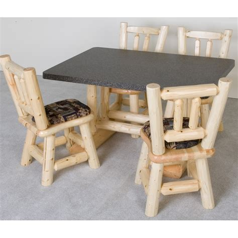 log dining room table furniture gt dining room furniture gt table gt pine log