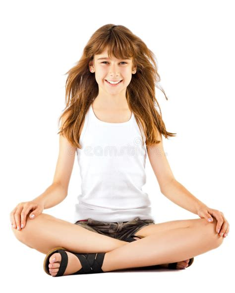 lotus position images sitting in lotus position stock image image 21861621