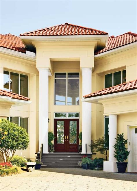 8 best the many facades images on best exterior paint clay roof tiles and exterior