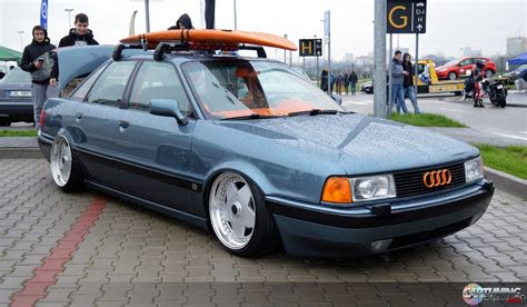 Audi 80 B3 Tuning stance audi 80 b3 front