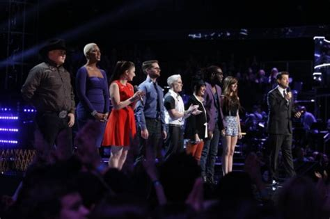 who went home on the voice 2014 season 6 last top 8