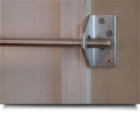 Door Knob Security Bar by 25 Best Ideas About Security Lock On Security