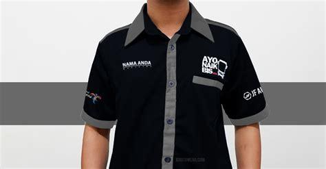 Kemeja Transportasi Kemeja Official Ayo Naik Bis Jf Autowear