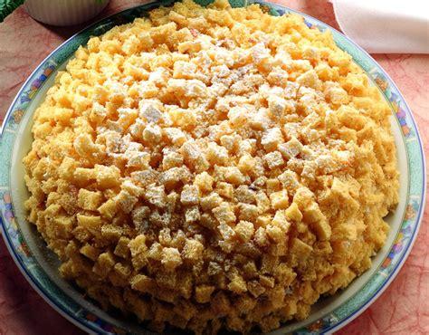cucina pasqua ricetta mimosa di pasqua la cucina italiana