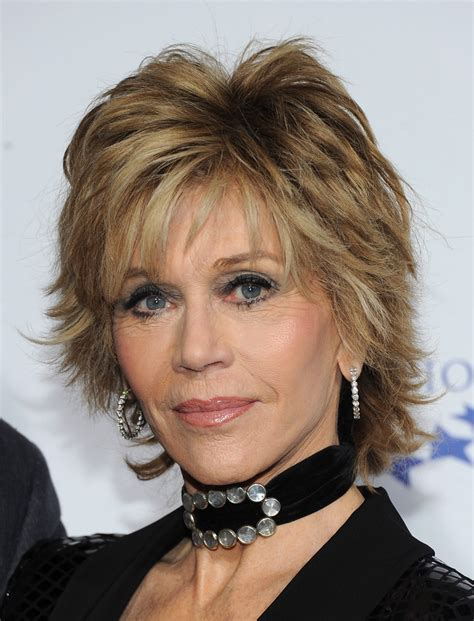 back of jane fondas hair jane fonda in the clinton foundation s quot a decade of