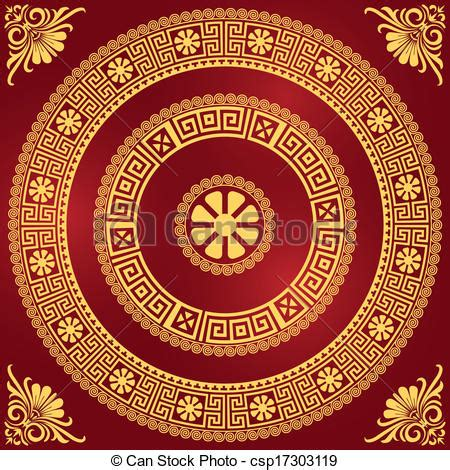 Vintage Poster 40x40cm Motif Kayu 27 vector clip of traditional vintage ornament traditional vintage csp17303119