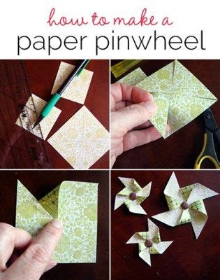 How To Make A Paper Pinwheel Step By Step - 17 best images about templates on side step
