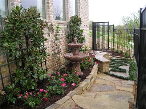 Side Yard Landscaping Ideas Landscape Traditional With Side House Garden Ideas