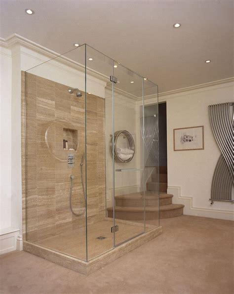 Glass Shower Doors Uk Custom Shower Fulham Custom Frameless Shower Enclosures