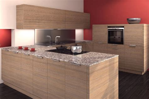 Laminate Kitchen Designs Allmilmo Junior Laminate Kitchen In Textured Pine Modern Kitchens Allmilmo Island At