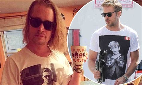 macaulay culkin wears hilarious t shirt showing ryan