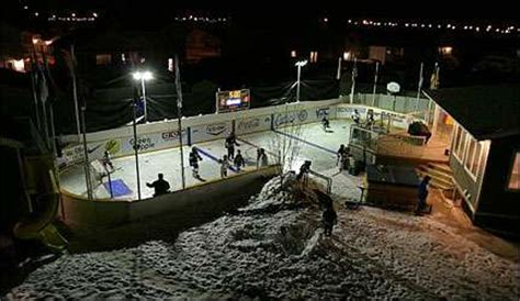 backyard hockey rink plans backyard arenas outdoor hockey rink design contest