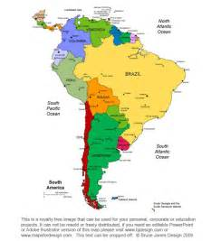 printable map of south america world regional printable maps royalty free