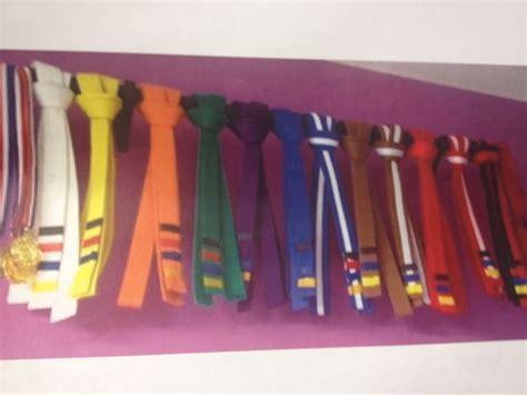 taekwondo belt display awards