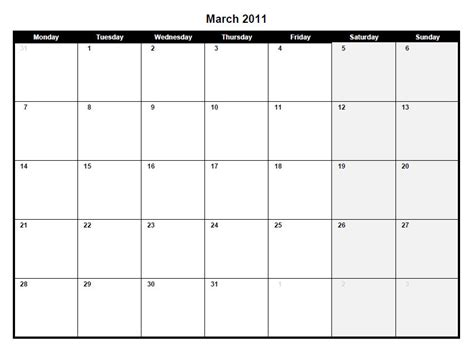2012 printable monthly calendar excel template february 2011 calendar template excel