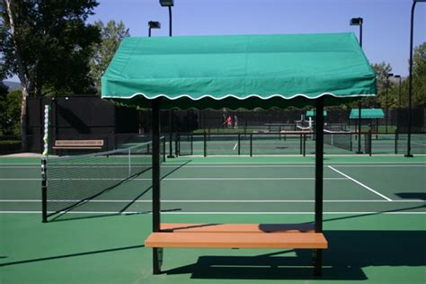 tennis benches for courts welch tennis courts inc 10 tennis court canopy bench