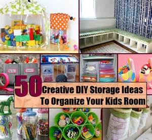 50 creative diy storage ideas to organize your room