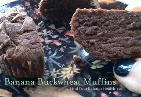 Healthy Detox Muffins by Banana Buckwheat Muffins Gluten Free Processed Sugar