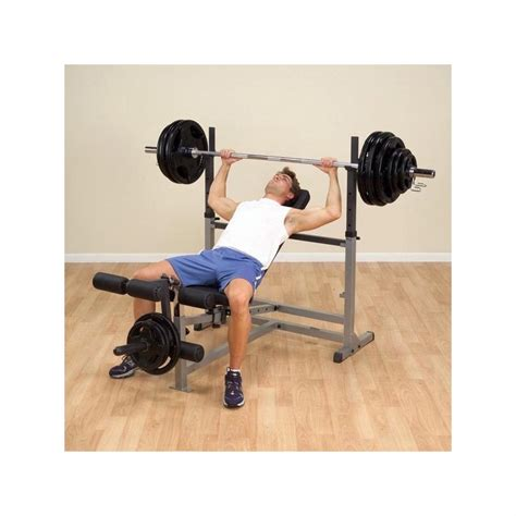 body solid bench press body solid starter bench press package