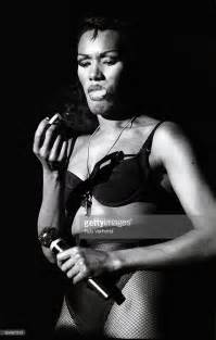 Red Powder Room - grace jones singer actress talking smoking culture