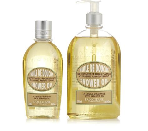 Loccitane Almond Shower 500 Ml l occitane almond shower 500ml 250ml qvc uk
