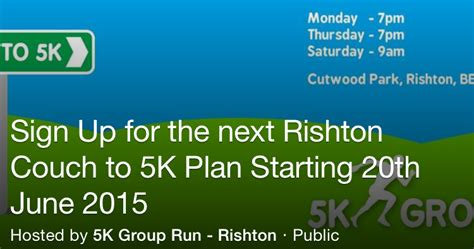 couch 5k nhs rishton first rishton couch to 5k 20th june 2015
