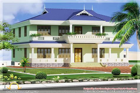 single floor house elevation models paint design
