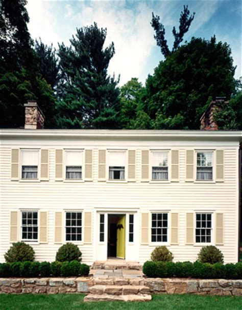 albert hadley s suburban colonial home in new jersey