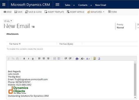 email format regards design standard consistent and clean e mail signatures