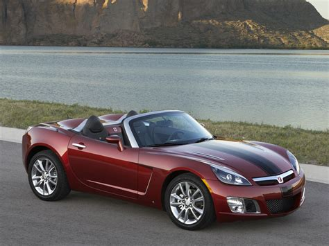 saturn sky red 2009 saturn sky red line wallpapers pictures