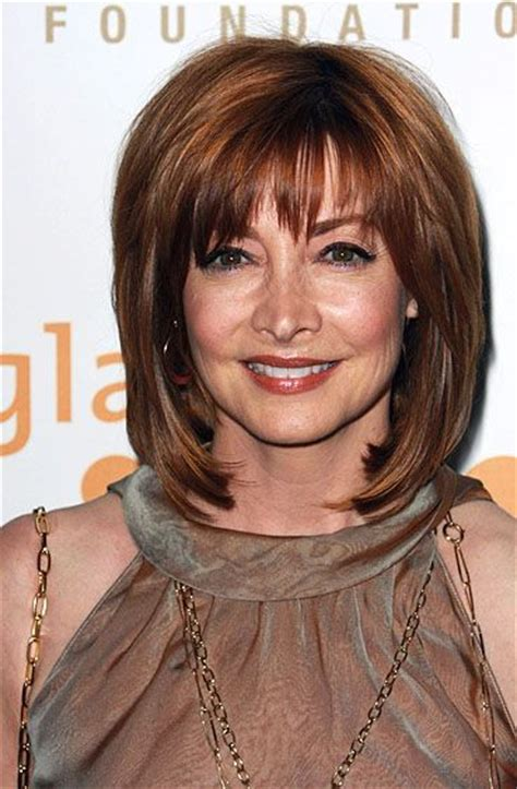 midlength hairstyles for older women sophisticated medium length hairstyles for older women