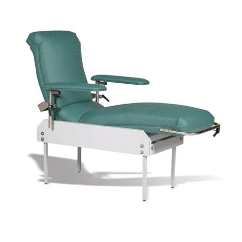 reclining phlebotomy chair adjustable blood draw lounge chair marketlab inc