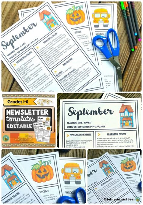 powerpoint newsletter templates 1537 best fourth grade lessons images on
