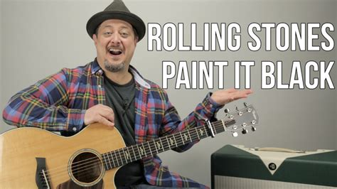 tutorial guitar rolling stones how to play quot paint it black quot by the rolling stones on