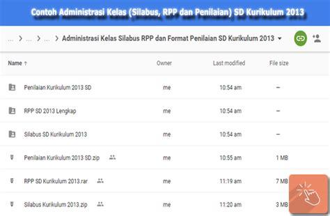 administrasi rpp dan silabus lengkap kurikulum 2013 review ebooks contoh administrasi kelas silabus rpp dan penilaian sd