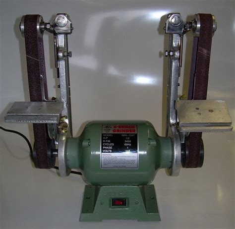 bench grinder belt sander conversion convert bench grinder to belt sander 28 images metex 6