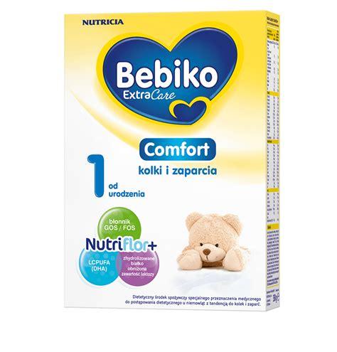 comfort i bebiko comfort 1 mleko na kolki i zaparcia u niemowlaka