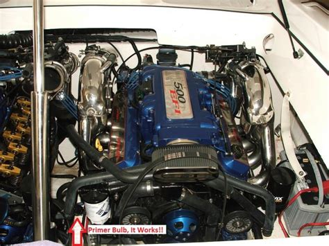 boat engine sputtering at full throttle 2002 mercruiser 5 0l runs great most of day but later