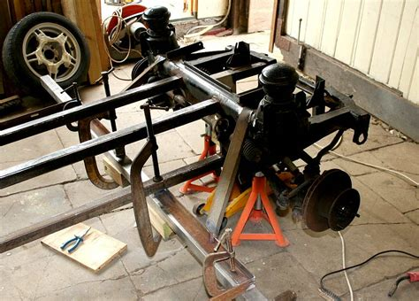 50x50 Steel Box Section by Ecostar City Sports Car Chassis Welding Build Your Own Diy