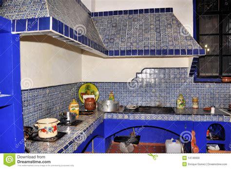 cocina de la hacienda imagen de archivo imagen de