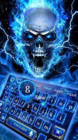 Tengkorak Biru 1 gambar api biru tengkorak keyboard 10001007 unduh apk