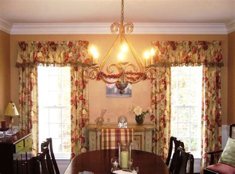 Country Dining Room Curtains Country Design Dining Room Transitional Window Treatments Dc Metro By Golden