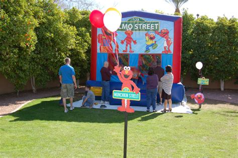 theme park for 2 year old munchkin s elmo themed 2nd birthday party w rubber ducky