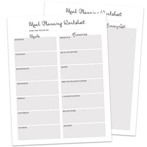 meal planning worksheet meal planning worksheet freebie flickr photo
