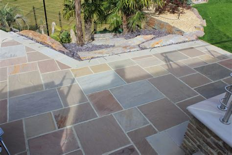 Shale Patio by Beige Sandstone Riven Paving Ced Ltd For All Your