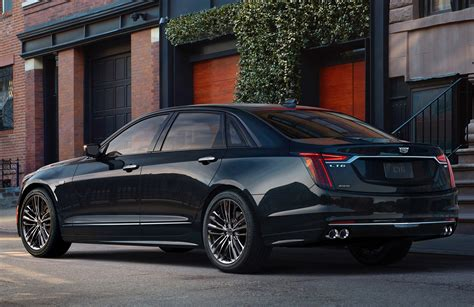 Sport Cadillac by 2019 Cadillac Ct6 V Sport Debuts With V8 Gm Authority