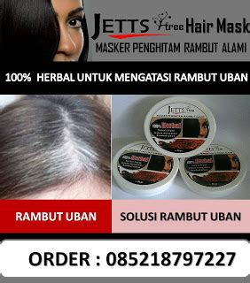 Jettstree Hair Mask herbal rambut uban mengatasi rambut berketombe