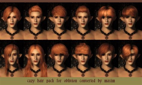 hair packs of tes iv oblivion for female only by radioragae cazy hair for oblivion at oblivion nexus mods and community