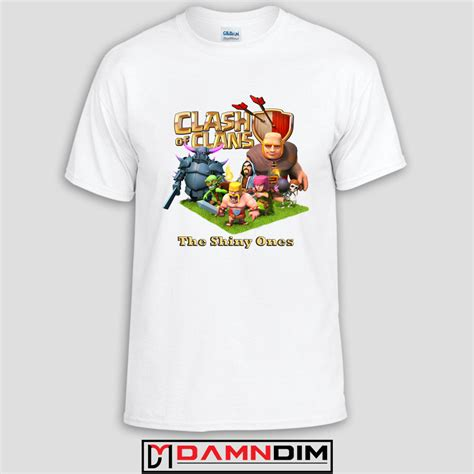 T Shirt Clash Of Clan Black clash of clans characters t shirt