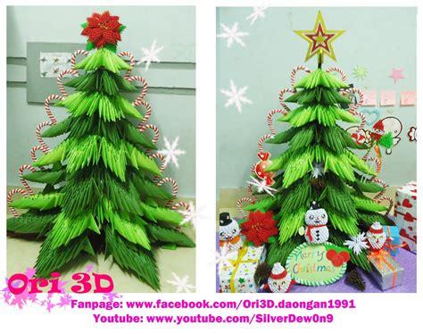3d origami lshade tutorial tutorial 3d origami christmas tree hướng dẫn xếp c 226 y